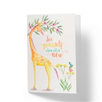 See Yourself When All is New - JW Paradise Greeting Card