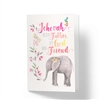 Jehovah is My Father God and Friend - JW Greeting Card
