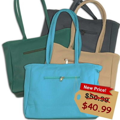 The Contemporary Econo-Tote (leatherette)
