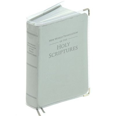 Clear Vinyl Book Cover/Protector For New World Translation Bible