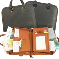 Leather Portfolio Case For Jehovah's Witness Ministry