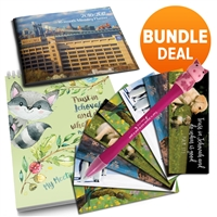 Jehovahs Witness Kids Supplies - Meeting Bundle 4 in 1 Pack
