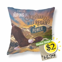 Cushion Cover for Jehovah's Witnesses Features the 2018 yeartext