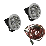 Baja Designs Squadron-R Sport LED Pair with Harness
