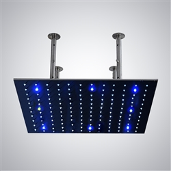 shower head multicolor led