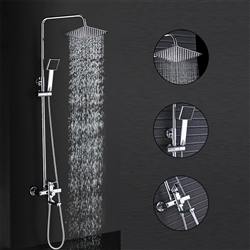 LED Shower Head with Temperature Sensor