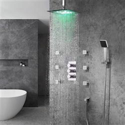 Trialo shower head multicolor led