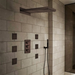 Oil Rubbed Bronze Finish Ultra Shower Set