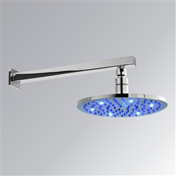 10 inch shower head with multicolor led