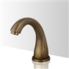 Contemporary touchless bathroom faucets Antique Gold Sensor Faucet Brass