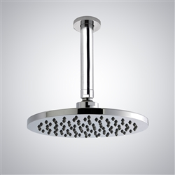 20 inch stainless steel round led rainfall showerhead