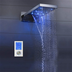shower head multicolor led RGB