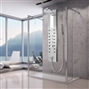 Limited Quantity Stainless Steel Shower Panel Rain Style Massage Jets System