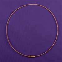 1 1/2 Sacred Cubit Light-Life Ring Plain Copper 3 Beads