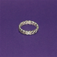 Unseen Venus Finger Ring - Sterling Silver