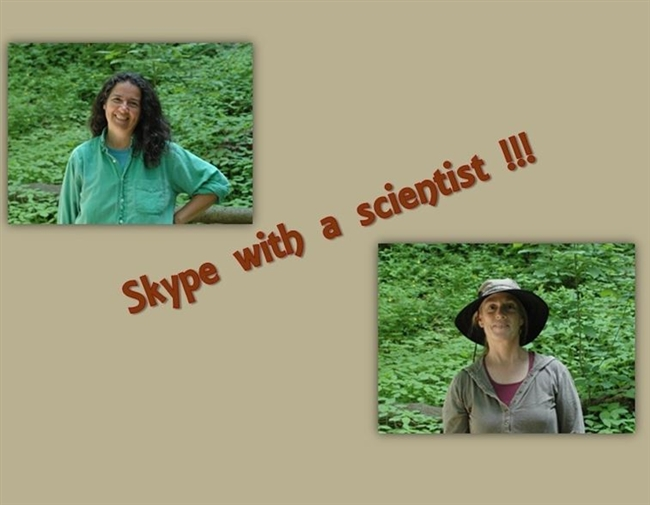 Skype with a Scientist