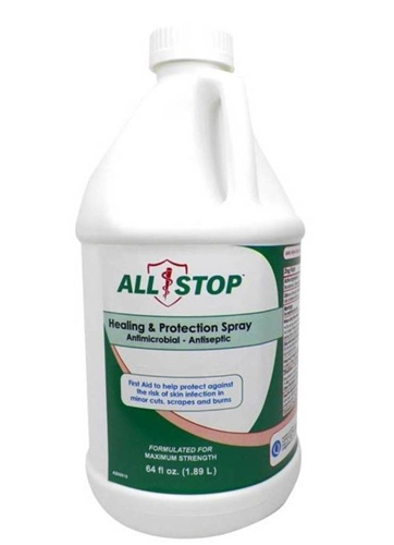 AllStop Healing & Protection Skin Antiseptic Spray - 64 oz