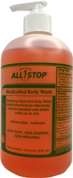 Medicated Body Wash - 16 oz