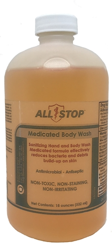 Medicated Body Wash Orange - 18 oz