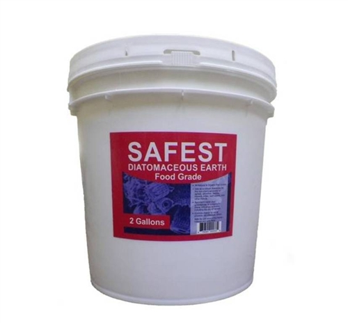 Safest 100% Food-Grade Diatomaceous Earth - 2 Gal