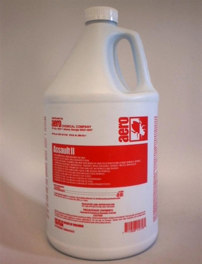 bed bug, lice, tick & flea residual spray - 1 gallon :: pesticide
