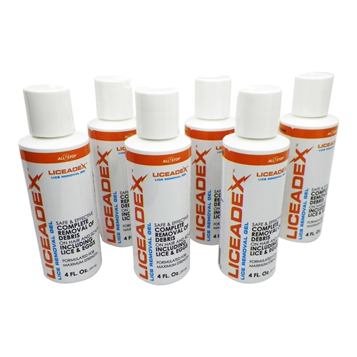Liceadex Lice & Nit Removal Gel 6 Pack