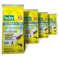 Safer Bed Bug, Ant & Crawling Insect Killer 4 lb - 4 Pack