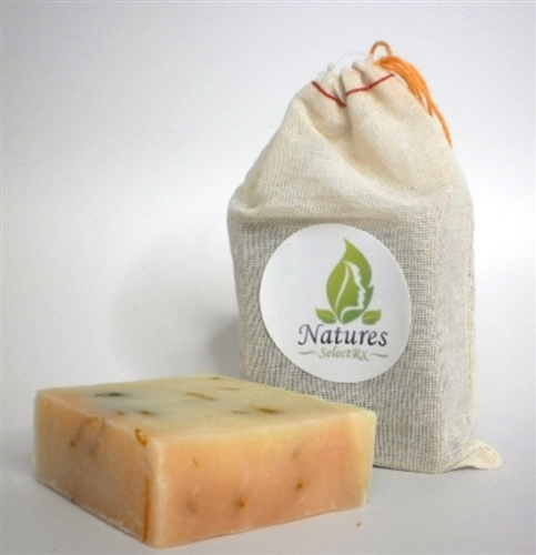 NaturesSelectRx - Flower Power - Aloe Calendula All Natural Soap - 4.5oz Bar