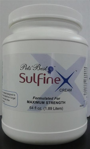 Pet Sulfinex Cream - 64 oz
