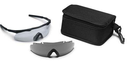 d137d085dea44 Smith Optics Elite Aegis Eyeshields Black Frame Clear Lense
