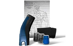TASER C2 LED/LASER GOLD KIT BLU (2)