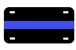 The Thin Blue Line Plate