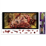 Halloween Microwave Door Decoration Peel 'N Place
