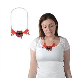 Bloody Fangs Necklace