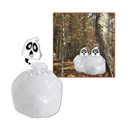 Spooky Spirit Leaf Bag