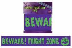 Beware! Fright Zone Tape