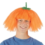 "Be the prettiest pumpkin on the block with our one-size-fits-most pumpkin wig.The pumpkin wig is a vibrant orange color to make you the best looking ""Jackie""-o-lantern at the party!"