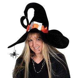 Deluxe Plush Witch Hat
