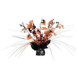 Happy Halloween Metallic Centerpiece