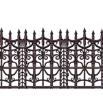 Creepy Fence Border Decoration