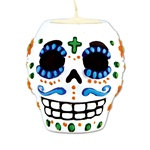 Day of the Dead Male Tea Light Holder