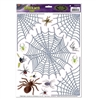Spider and Web Clings Window Clings