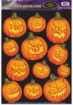 Scary Jack-O-Lantern Window Clings