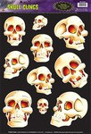 Skull Window Clings