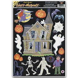 Haunted House Window Clings (15/sheet)