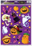 Halloween Character Clings (25/sheet)