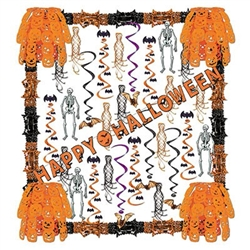 Halloween Reflections Decorating Kit (34 Pieces Per Kit)