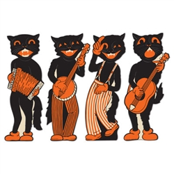 Scat Cat Band Cutouts