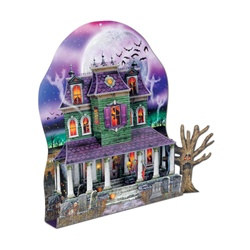 3-D Haunted House