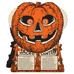 Jack-O-Lantern Fortune Wheel Game